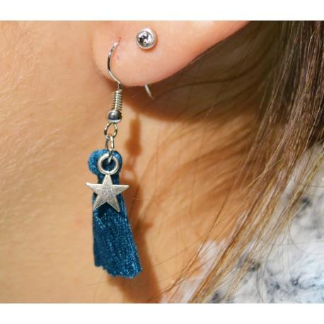 Bijoux Boucle d'oreille Starblue Candy