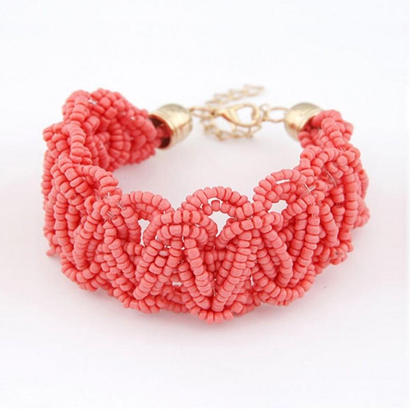 Bijoux en perles corail candy bijoux
