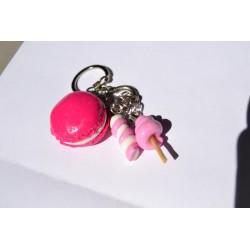 Porte clé Fimo