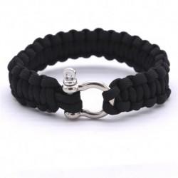 bracelet-homme-tressage-noir