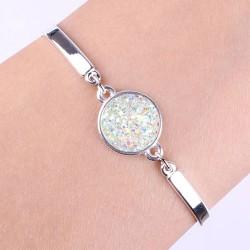 Bracelet Lucie blanc fantaisie