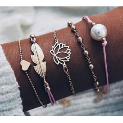 Bracelet Lot de 5 pièces...